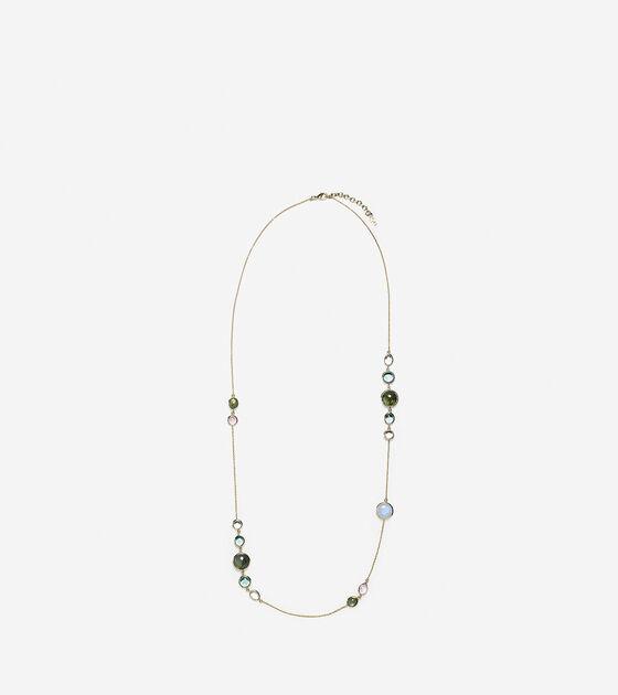 Accessories > Semi-Precious Station Necklace