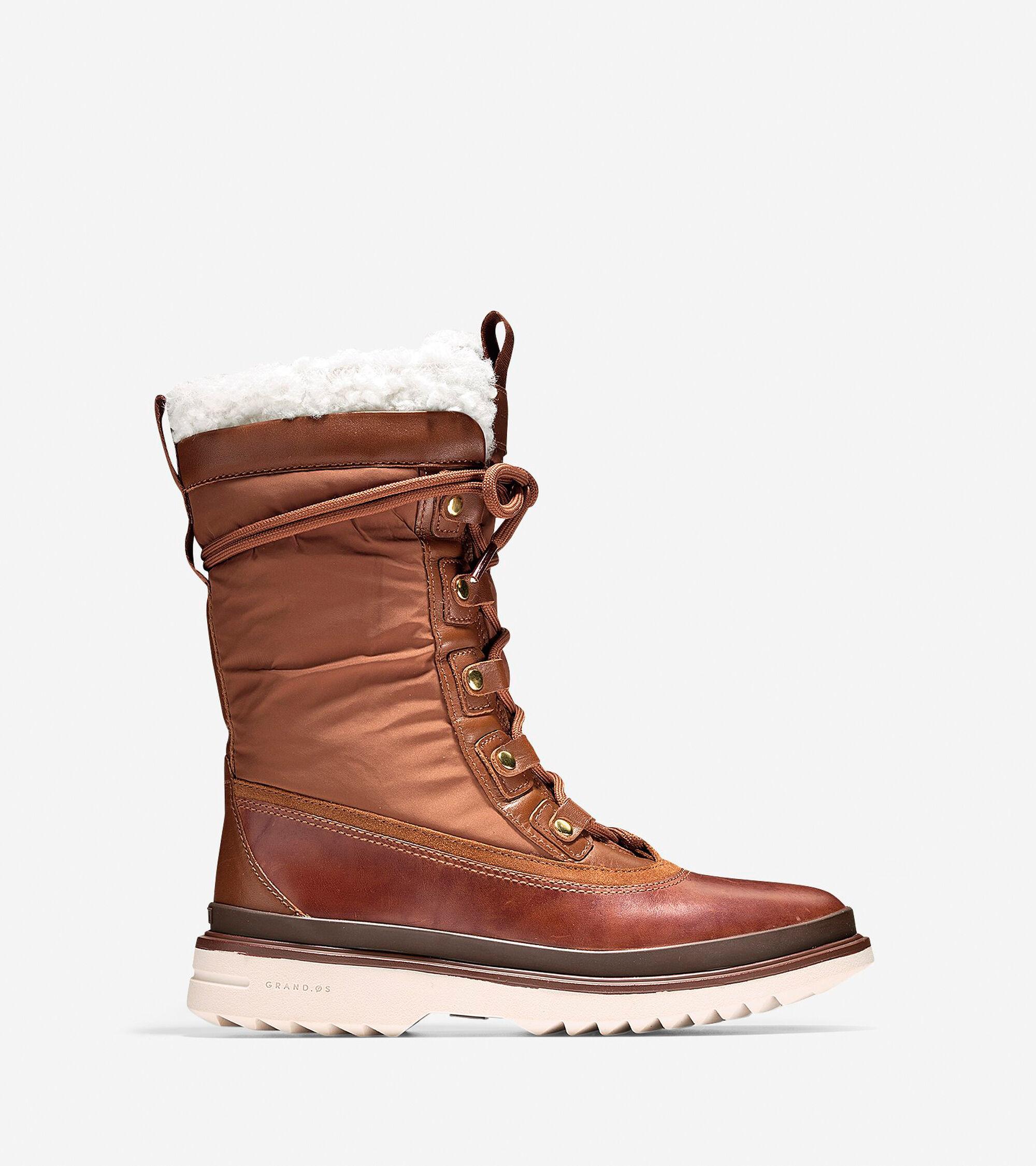 Cole Haan Millbridge Waterproof Lace Up Boots