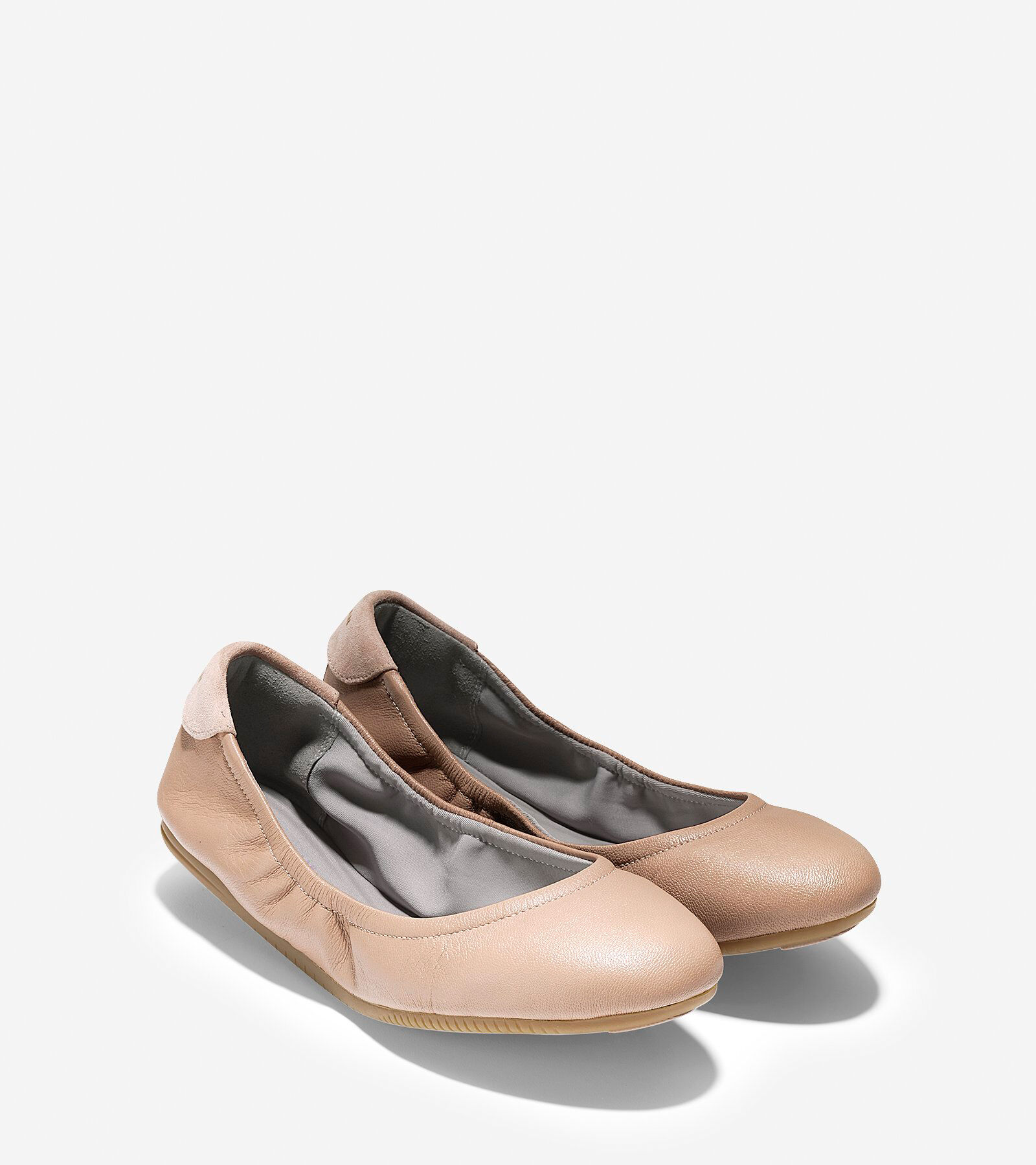 Cole Haan 2.0 StudiGrand Packable Ballet Leather Flat d5yxw3