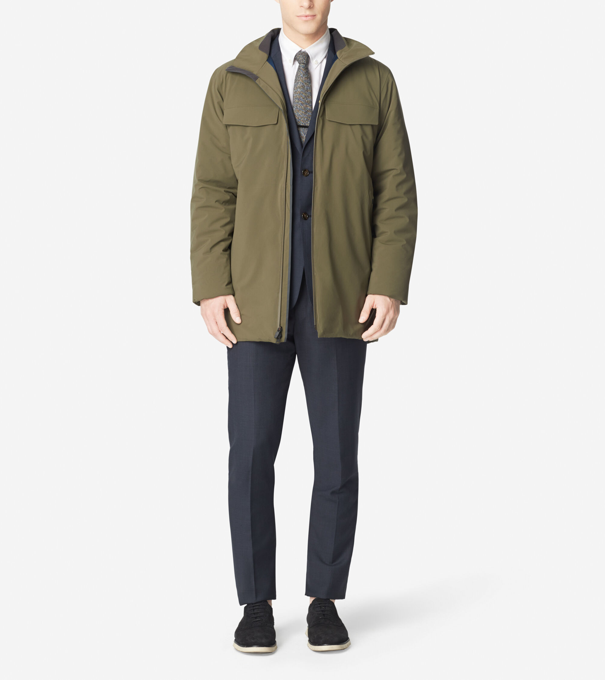 Outerwear > ZERØGRAND Motoring Coat