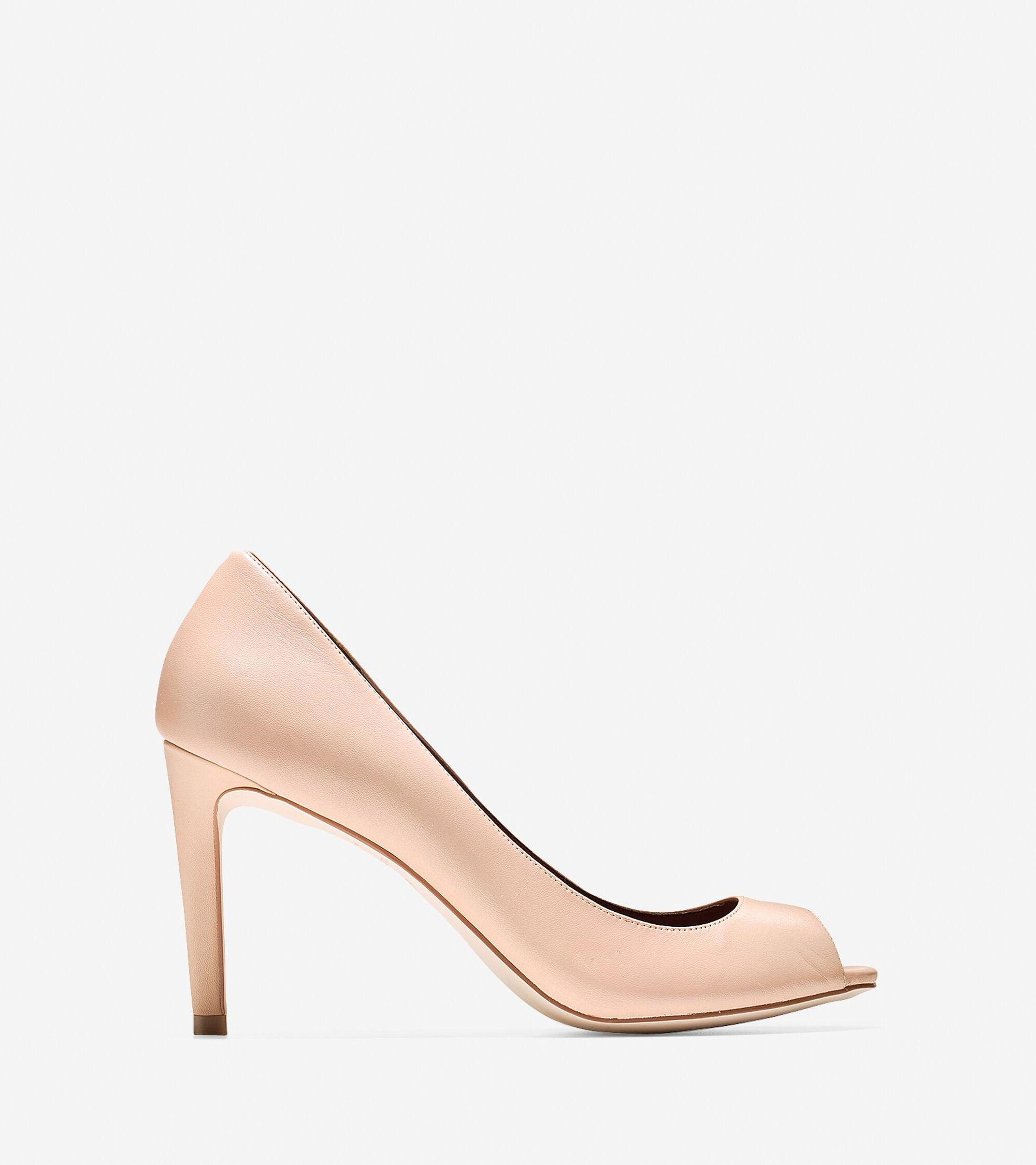 Shoes > Fair Haven Open Toe Pump (85mm)
