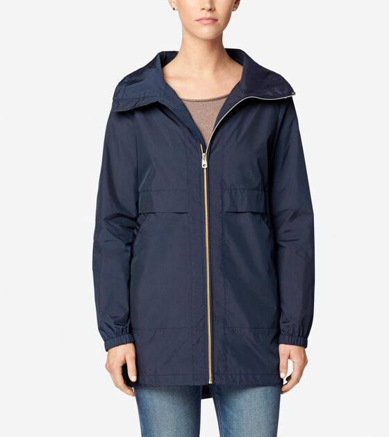 Outerwear > Sporty Packable Rain Jacket