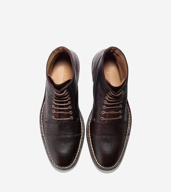 Canton Stitch Cap Toe Boot
