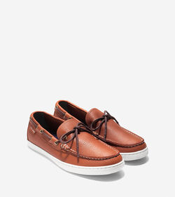 Cole Haan Mens Pinch Camp Leather Moc Weekender Shoes in Four Colors