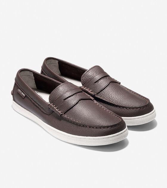 Men's Pinch Leather Weekender
