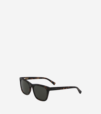 Acetate Square Wayfarer Sunglasses