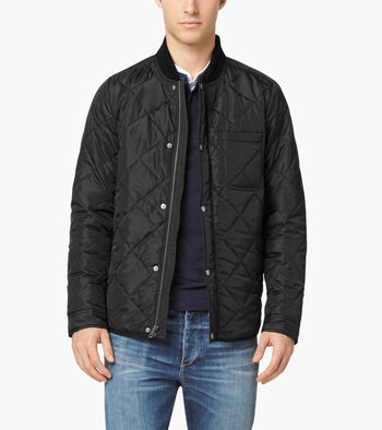 Quilted Varsity Jacket