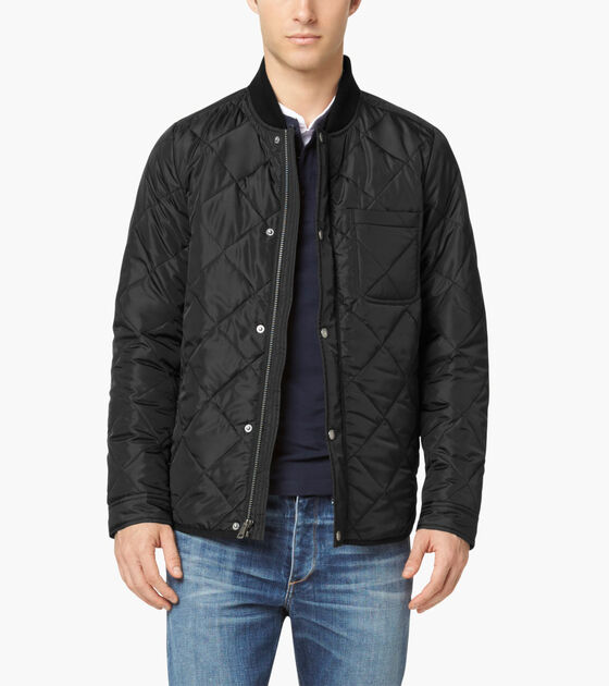 men cole quilted jacket best black add top quantity to mens sale quilt s discount haan cart