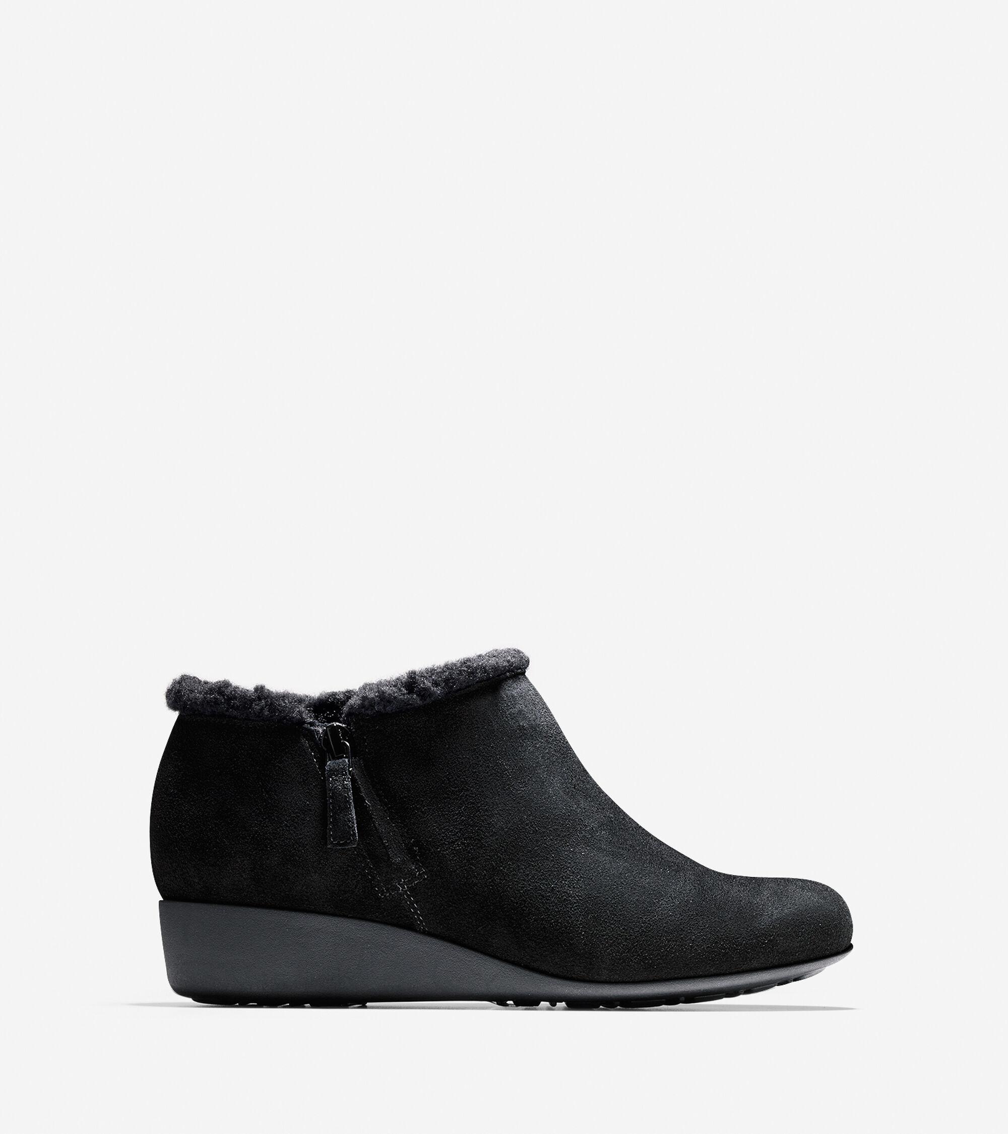 Womens Cole Haan Callie Shearling Rain Shoe
