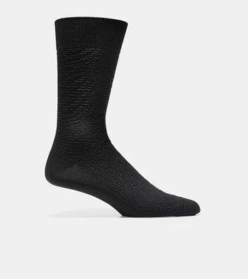 Distorted Texture Crew Socks