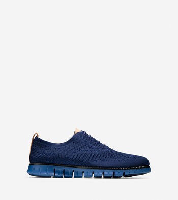 Men's ZERØGRAND Stitchlite Lined Wingtip Oxford