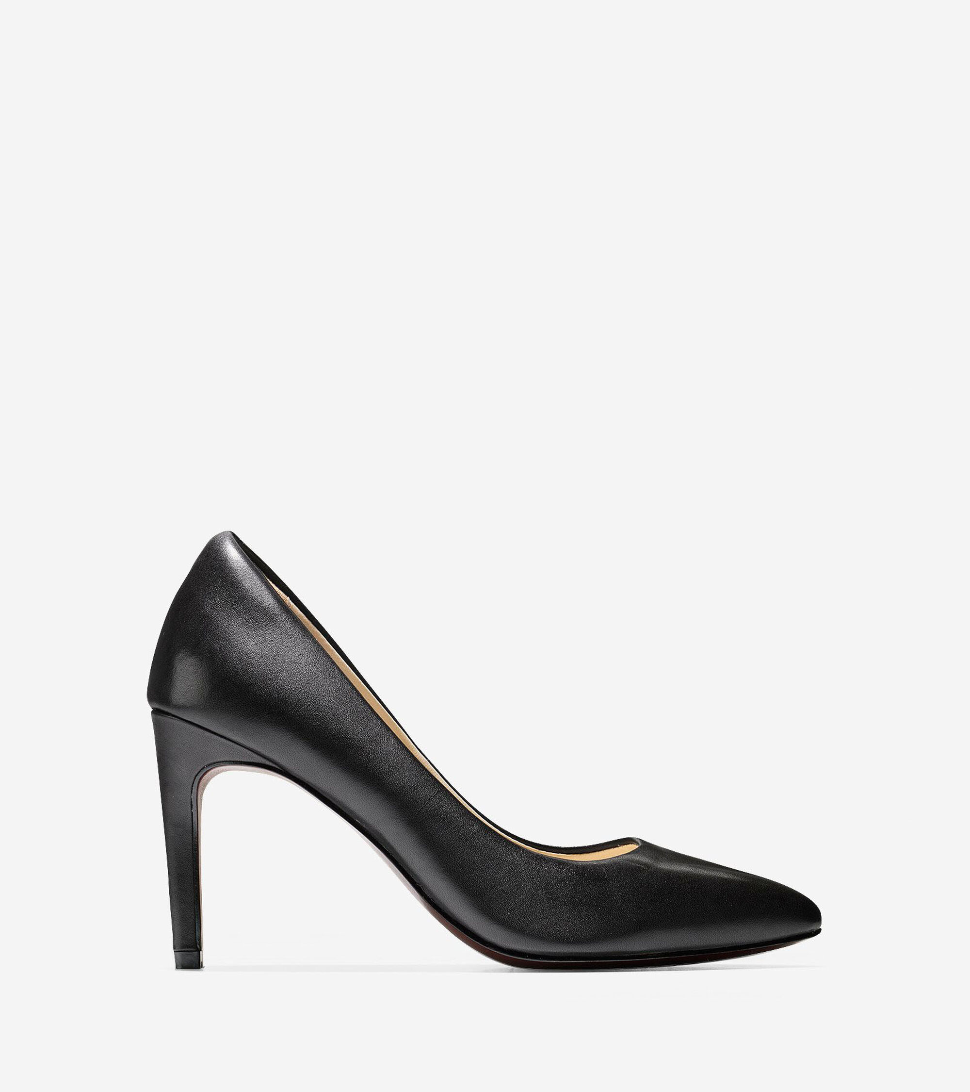 Cole haan black leather gloves - Eliza Grand Pump 85mm