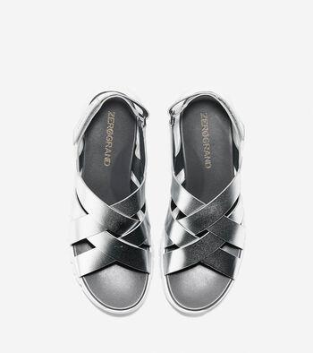 Women's ZERØGRAND Criss Cross Sandal