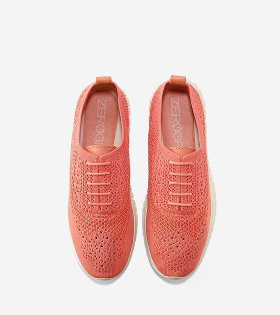 Women's ZERØGRAND Stitchlite Wingtip Oxford