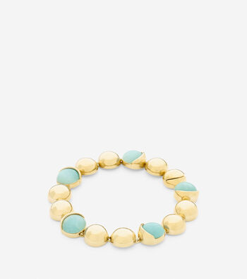 Semi-Precious Line Bracelet