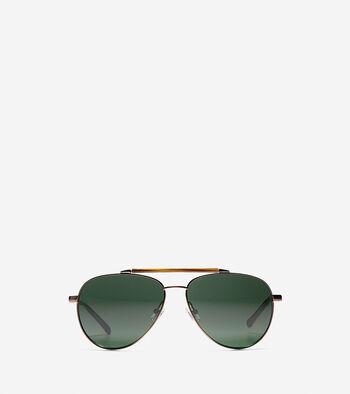 New Metal Aviator Sunglasses