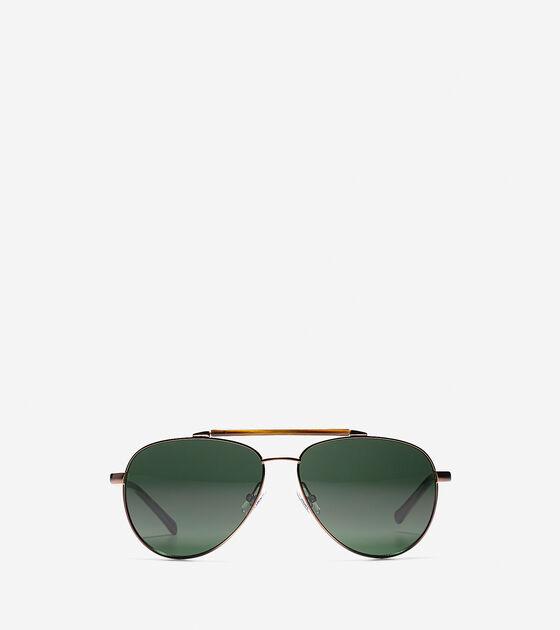 Accessories > New Metal Aviator Sunglasses