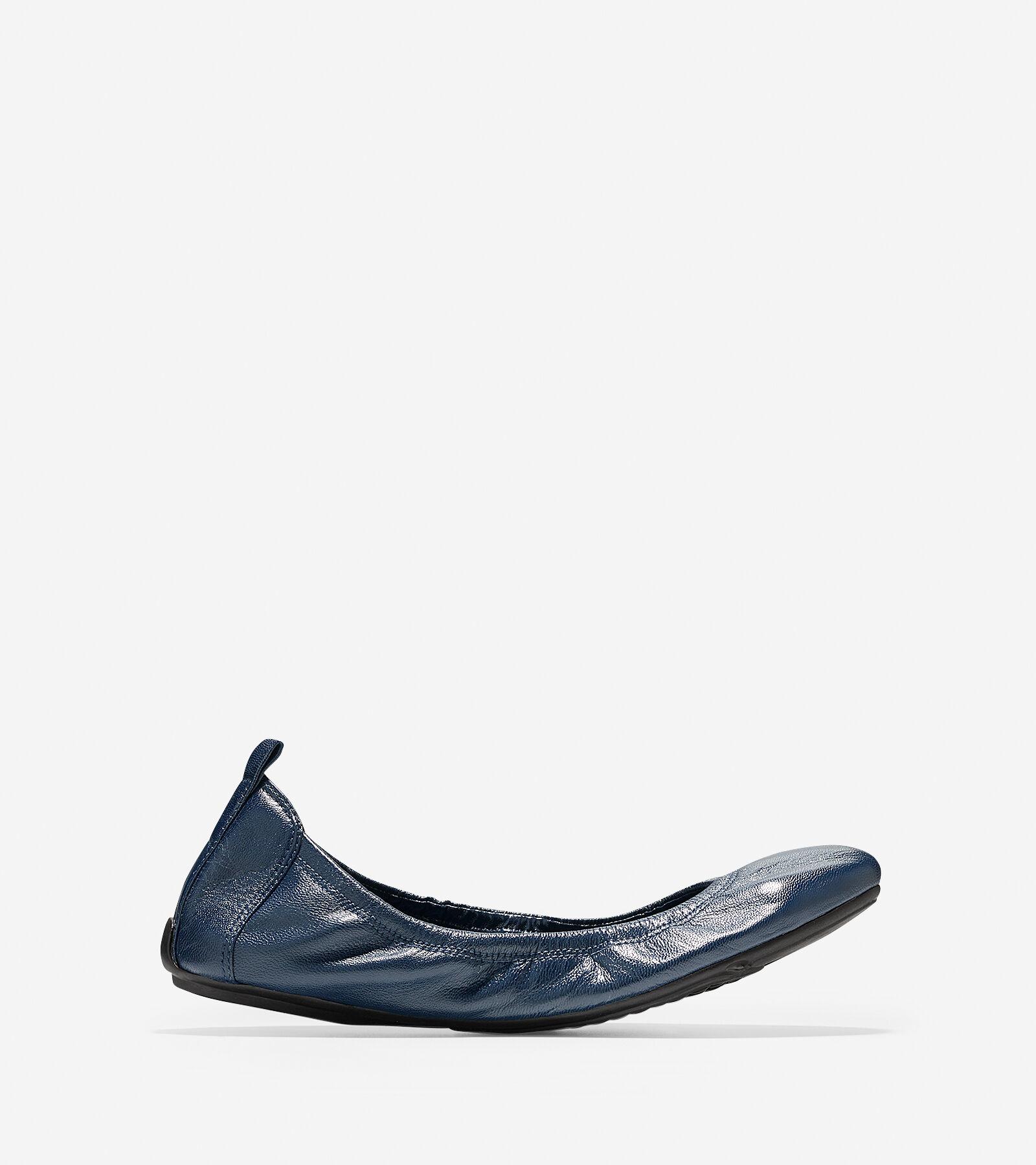Womens Shoes Cole Haan Jenni Ballet II Blazer Blue