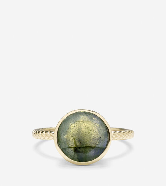 Brilliant Cut Semi-Precious Ring