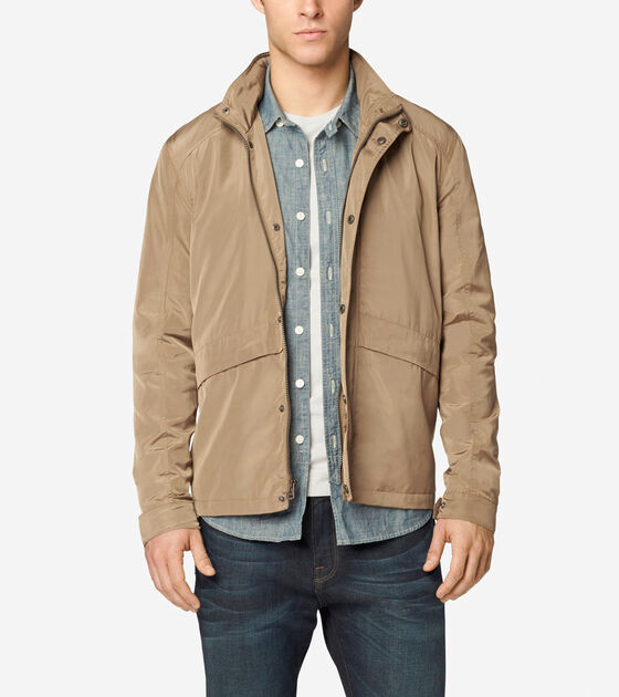 Outerwear > Trucker Packable Rain Jacket