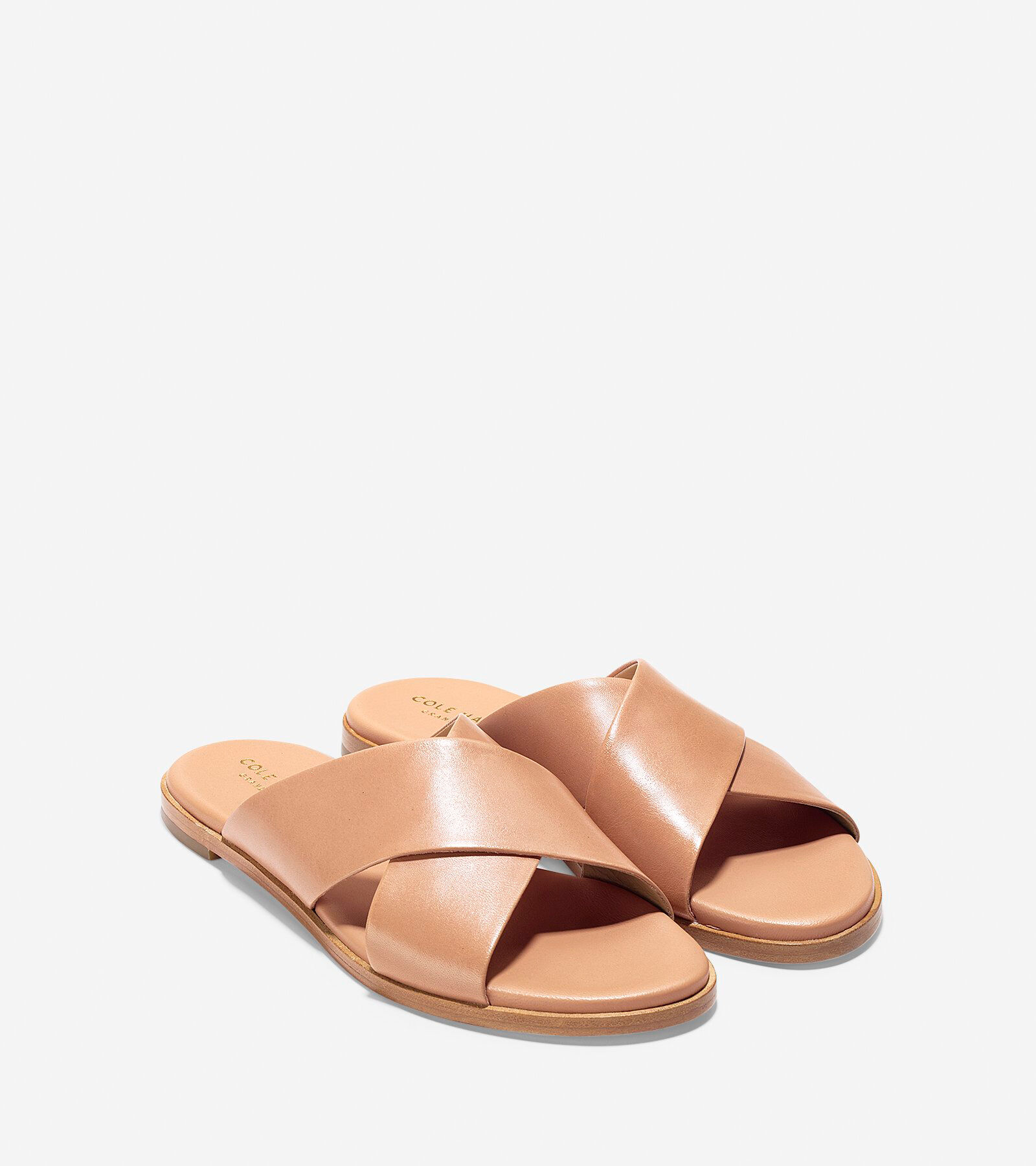 Cole Haan Anica Leather Slides 0wfihAqOY