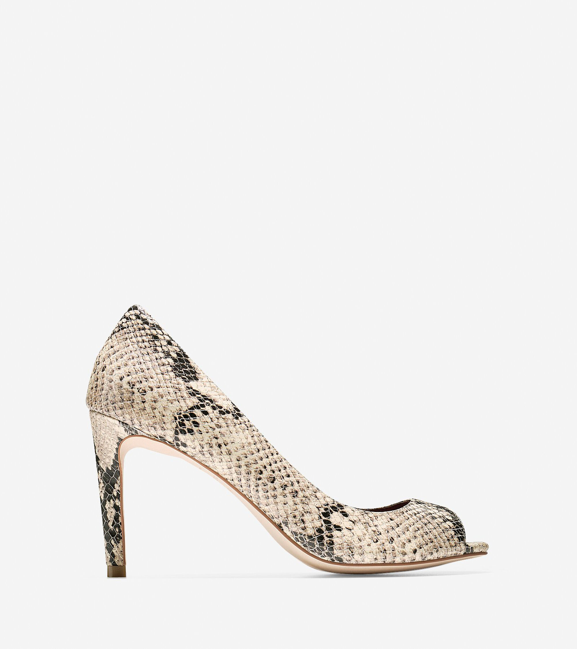 Shoes > Fair Haven Open Toe Pump (85mm)