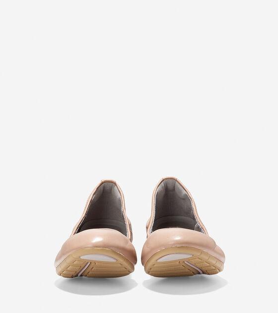 ZERØGRAND Stagedoor Stud Ballet Flat