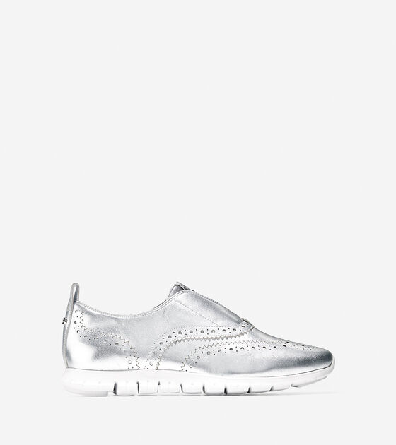 Oxfords > Women's ZERØGRAND Slip On Wingtip