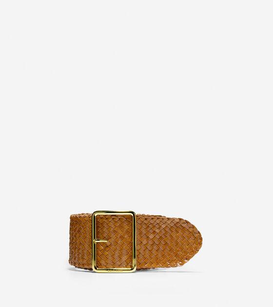 Accessories > Leather Braided Belt