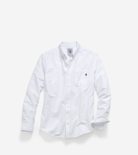 Apparel > Men's Pinch Long Sleeve Oxford Pocket Shirt