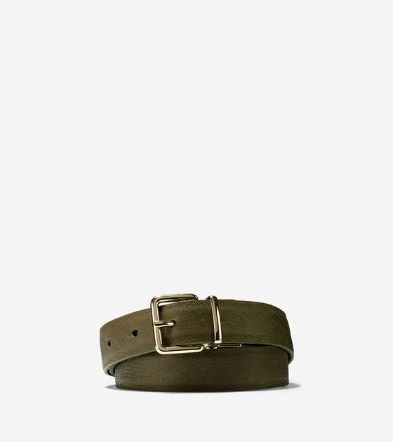 Belts > Reversible Leather Belt