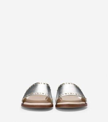 Anica Stud Slide Sandal