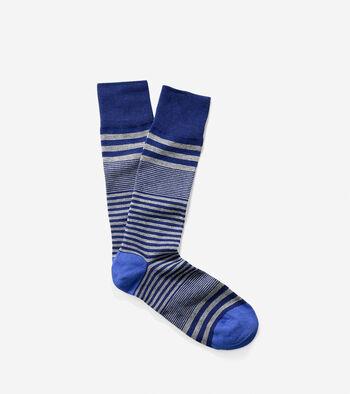 Skater Stripe Crew Sock