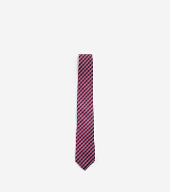 High Tide Gingham Tie