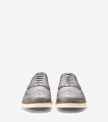 Men's ZERØGRAND Water Resistant Wingtip Oxford