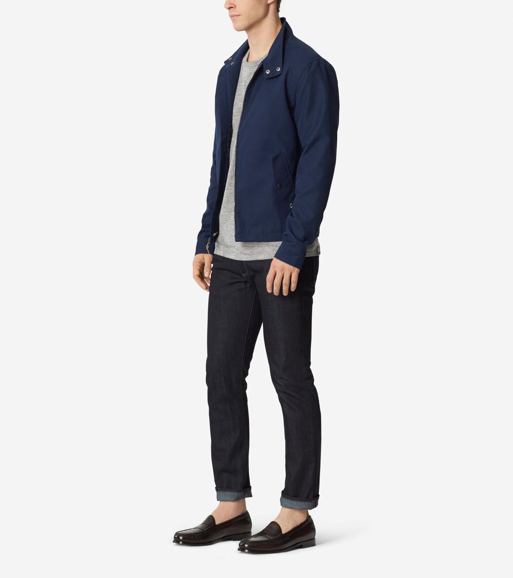 Mens jacket cotton -  Pinch Varsity Crew Jacket