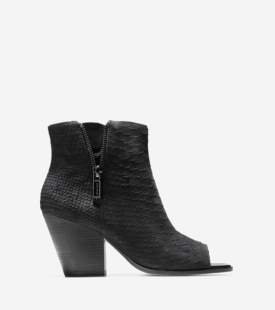 Shoes > Lundy Open Toe Bootie (75mm)