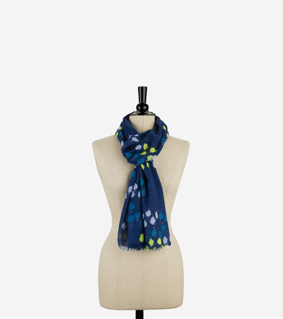 Country Print Scarf