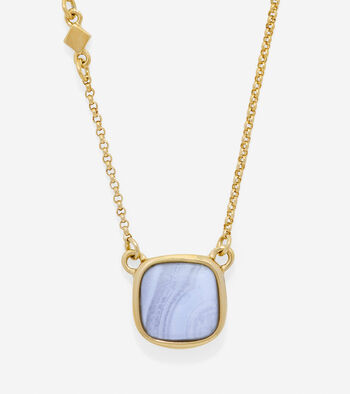 Tali L'Heure Bleue Semi-Precious Basic Pendant Necklace