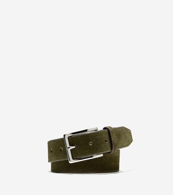 Bags & Outerwear > 32mm Suede Belt
