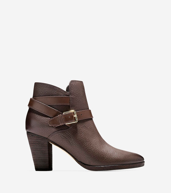 Shoes > Hayes Strap Bootie (75mm)