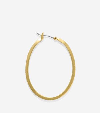 Tali Basket Weave Hoop Earrings