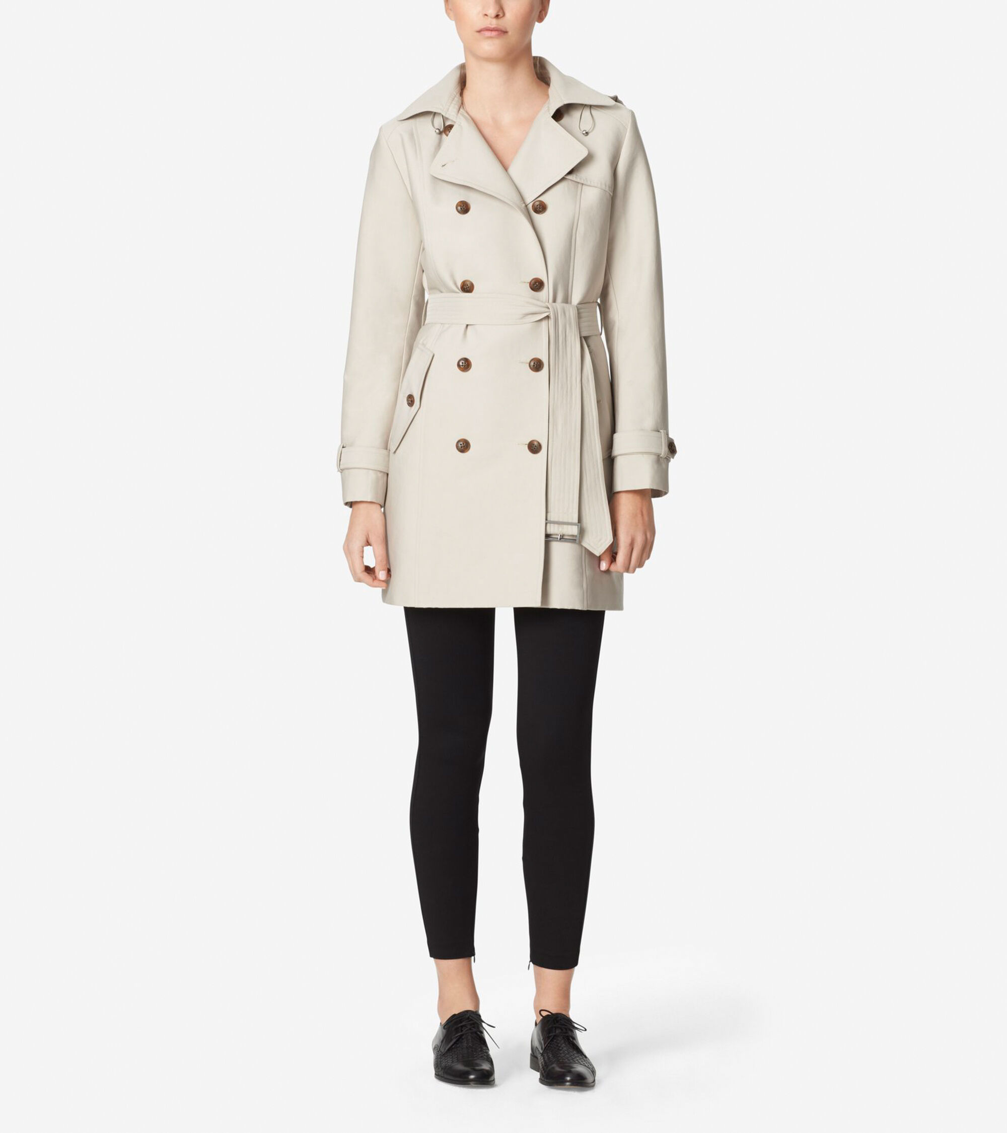 Outerwear > Classic Hooded Trench