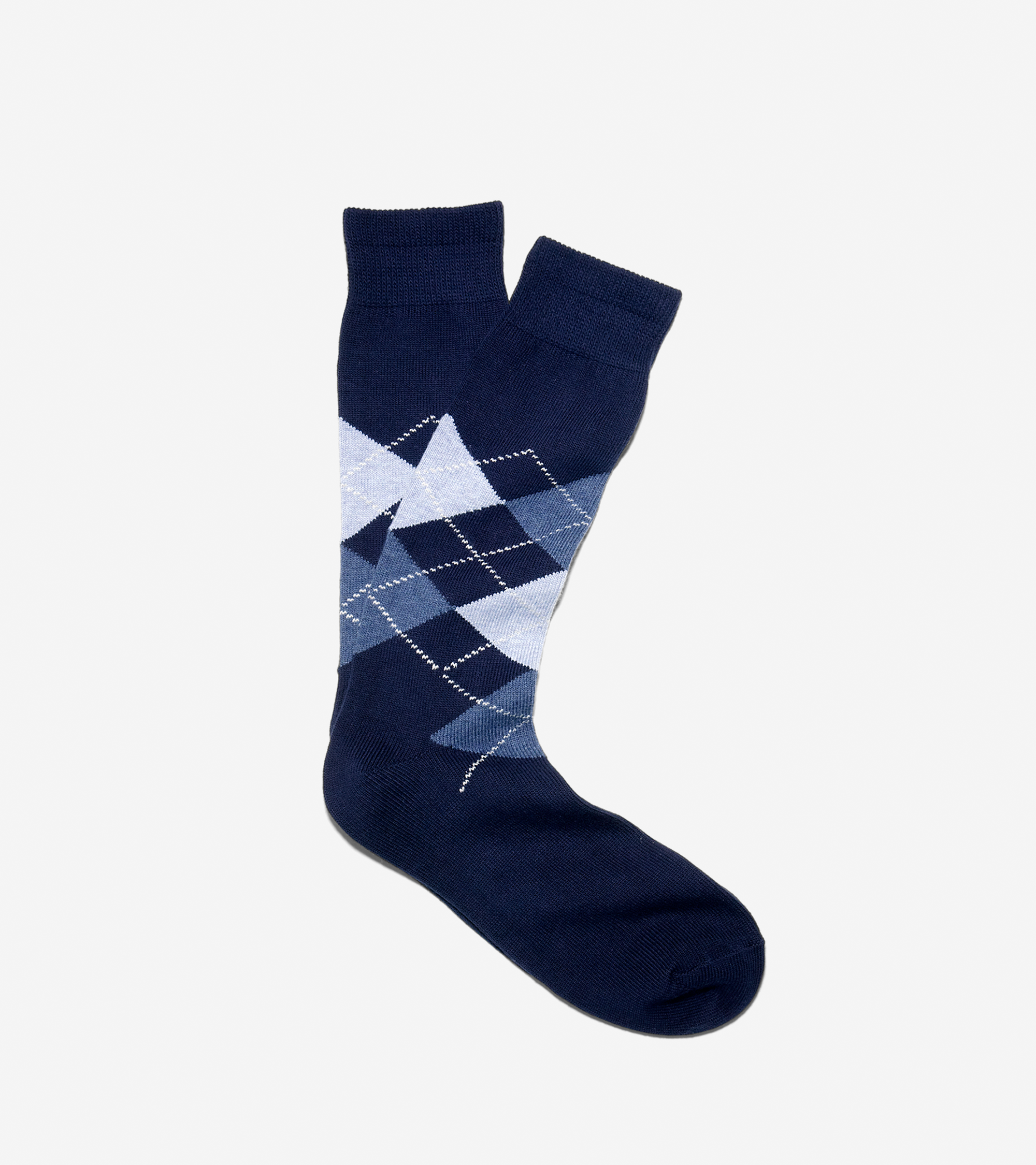 Wide Argyle Socks