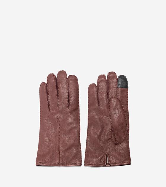 Men's Handsewn Deerskin Leather Gloves