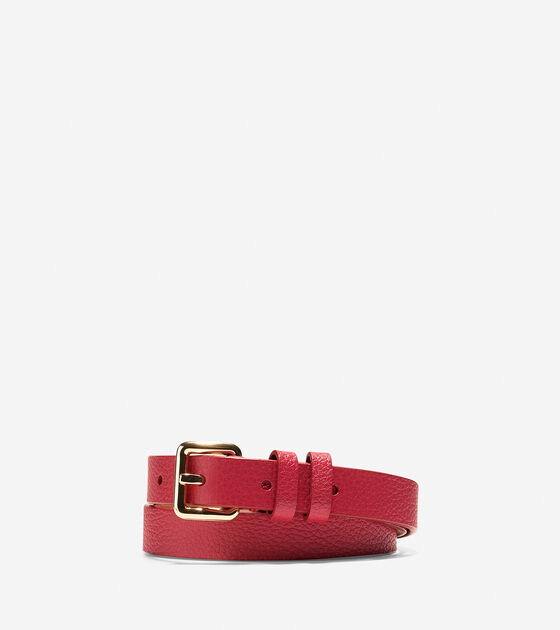 Belts > Pebble Leather Belt