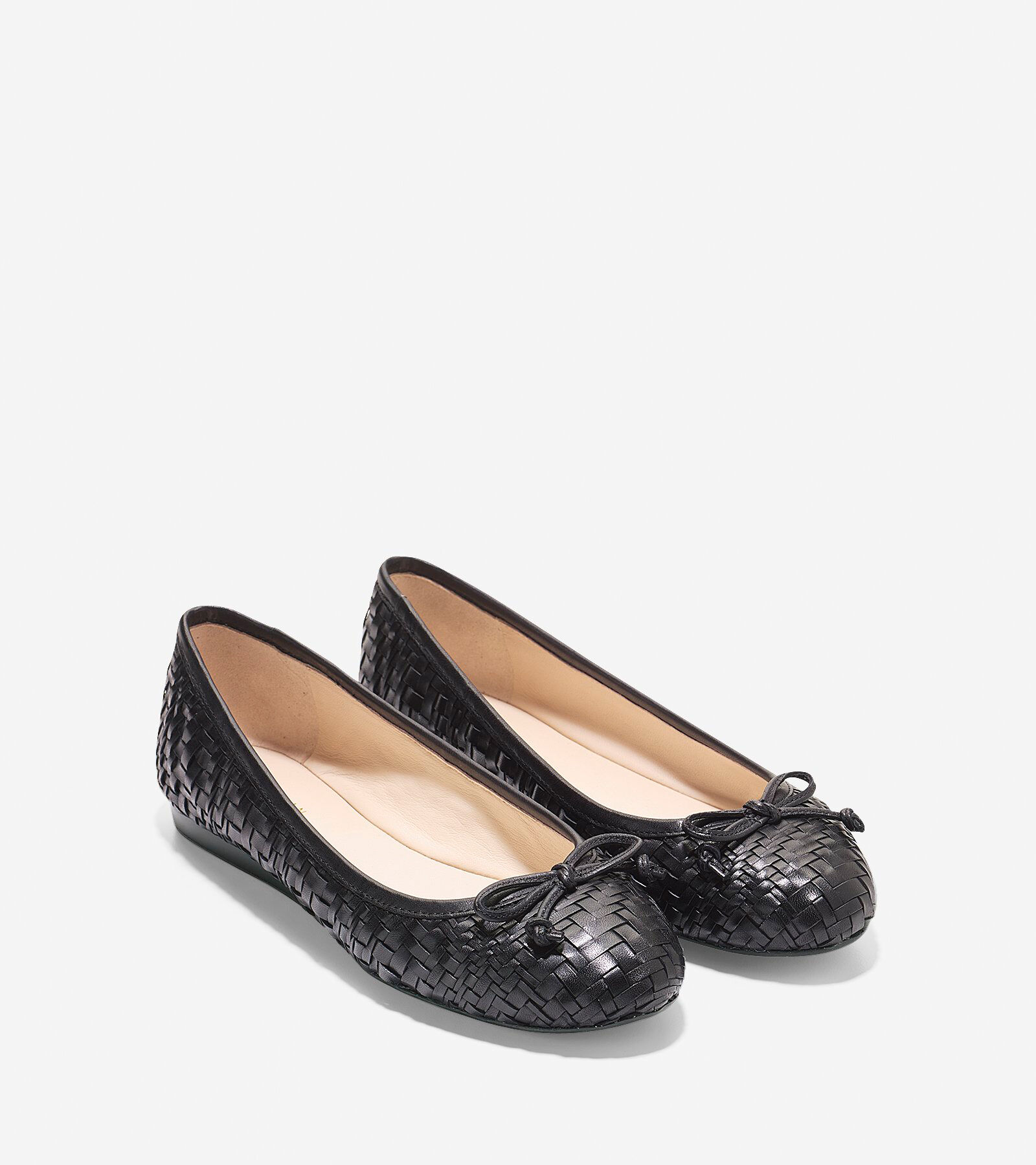 discount limited edition big sale online Cole Haan Woven Leather Flats pt1xZ2
