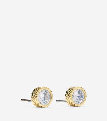 CZ Small Stud Earrings