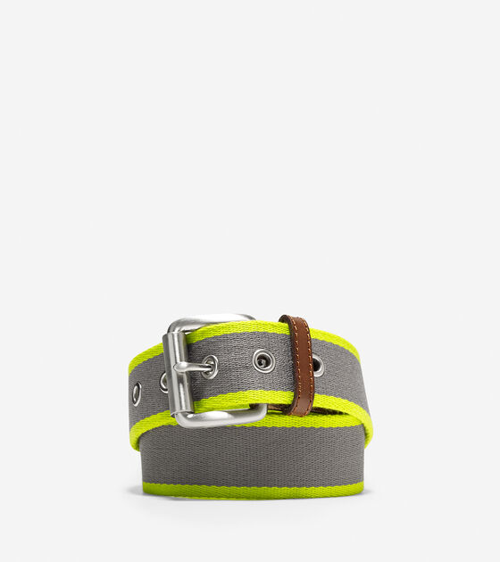 Accessories > 38mm Webbing Leather Belt
