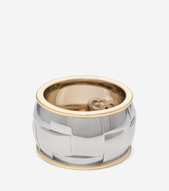 Genieveve Weave Graphic Ring